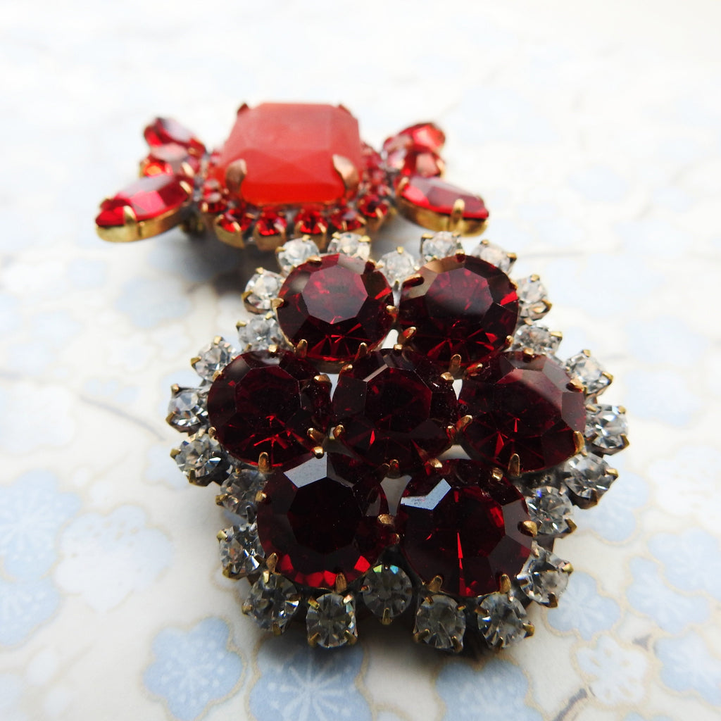 jeweled brooch