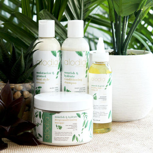 Alodia Hair Care Organic All Natural Hair Products