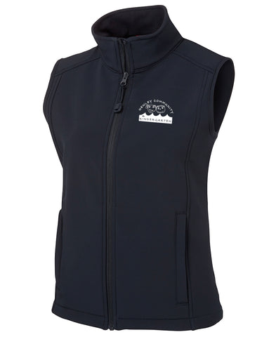 LADIES SOFT SHELL VEST - STAFF