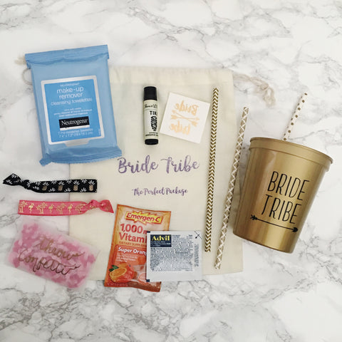 "Bachelorette Weekend ""Bride Tribe"" Party Kit"