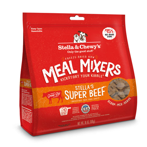 Stella & Chewy's Stella's Super Beef Freeze-Dried Dog Meal Mixer