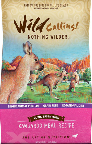 Wild Calling Xotic Kangaroo Dog Food