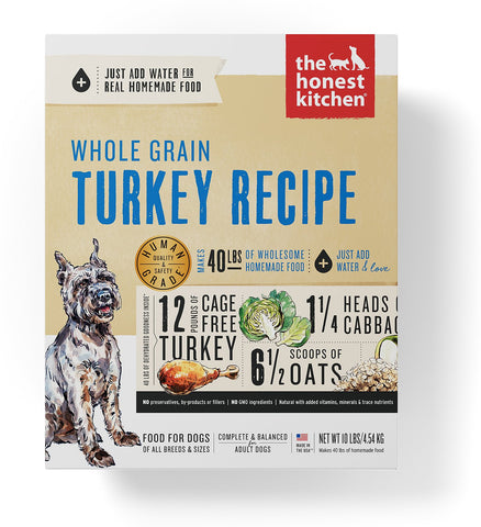 The Honest Kitchen Turkey Dog Food