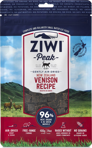 Ziwi Peak Air-Dried Venison Recipe Cat Food