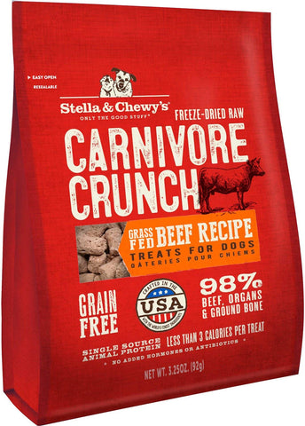 Stella & Chewy Beef Carnivore Crunch