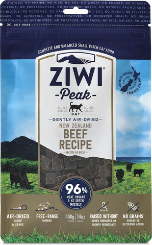 Ziwi Peak Air-Dried Beef Recipe Cat Food
