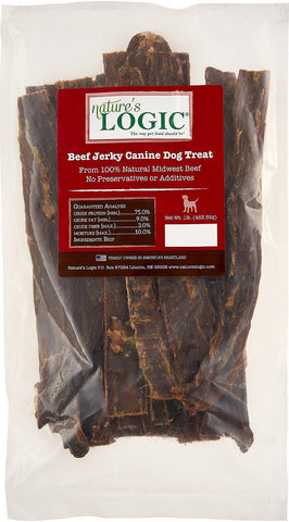 Nature's Logic Beef Jerky Dog Treats