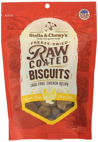 Stella & Chewy Cage-Free Chicken Raw Coated Biscuits
