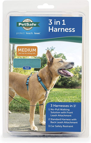PetSafe 3in1 Harness, from The Makers of The Easy Walk Harness Medium Dogs