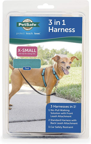 PetSafe 3in1 Harness, from The Makers of The Easy Walk Harness Extra Small Dogs