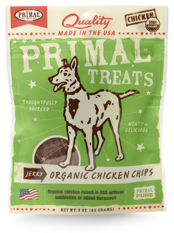 Primal Jerky Chips Organic Chicken