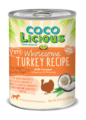 Coco Licious Wholesome Turkey Recipe