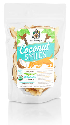 Dr. Harvey's Coconut Smiles Dog Treat