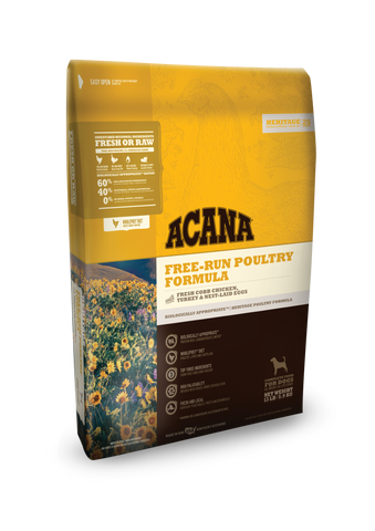 Acana Heritage Poultry Grain Free Dog Food
