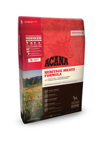 Acana Heritage Meats Grain Free Dog Food