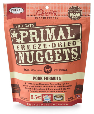 Primal Freeze-Dried Feline Pork Formula