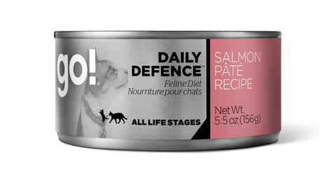 GO! DAILY DEFENCE™ Salmon Pâté Canned Cat Food