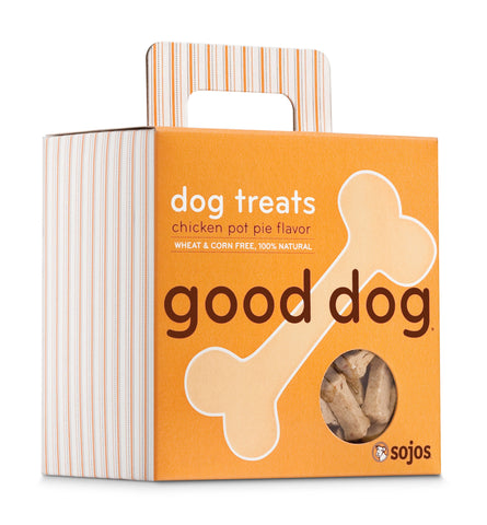 Good Dog Chicken Pot Pie Dog Treats