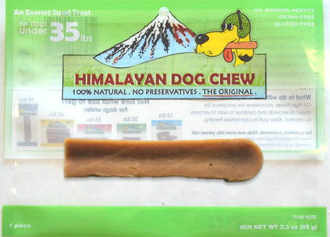 Himalayan Dog Chew Under 35lbs