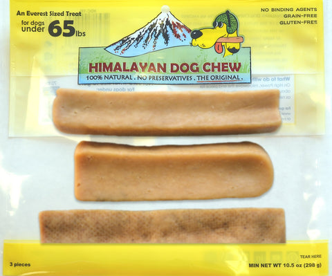 Himalayan Dog Chew Under 65lbs