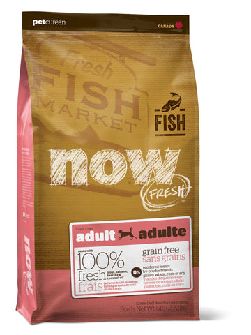 NOW FRESH FISH Recipe for Adult Dogs