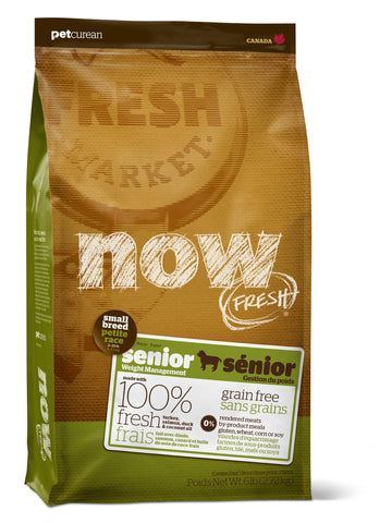 NOW FRESH™ Grain Free Small Breed Senior Recipe