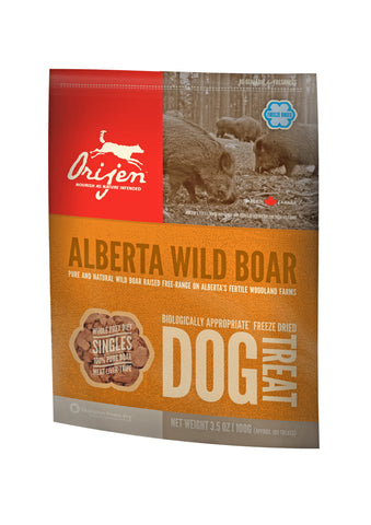 Orijen Freeze-Dried Wild Boar Dog Treat