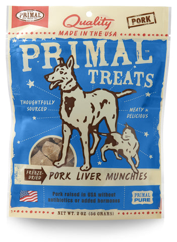 Primal Freeze-Dried Munchies Pork Liver