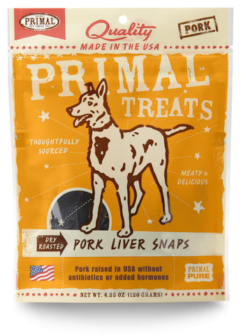 Primal Dry Roasted Pork Liver Snaps