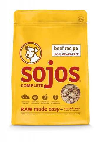 Sojos Complete Beef 8lbs