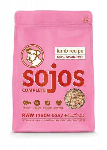 Sojos Complete Lamb 8lbs
