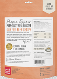 PROPER TOPPERS Pure & Tasty Meal Booster Grain Free Beef Dog Food