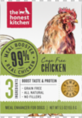 99% Chicken Meal Booster Wet Dog Food 5.5 oz Carton