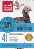 99% Turkey & Duck Meal Booster Wet Dog Food 5.5 oz Carton