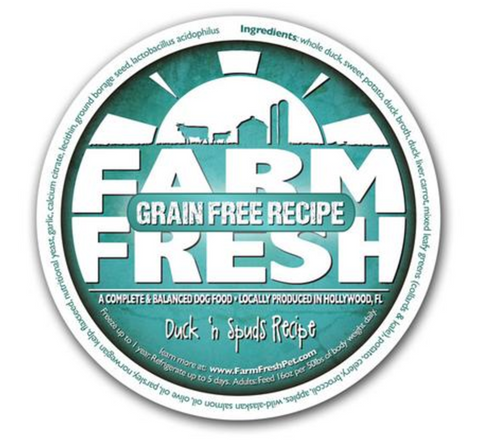 Farm Fresh Duck n Spuds Dog Food