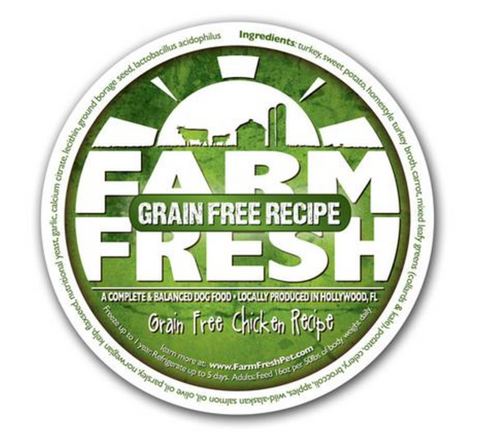 Farm Fresh Grain Free Chicken Dog Food