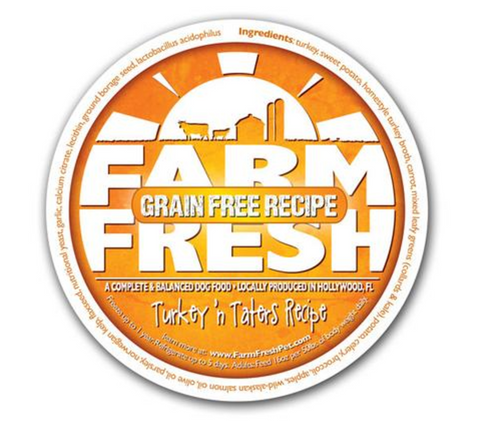 Farm Fresh Grain Free Turkey 'n Taters Dog Food