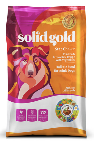 Solid Gold Star Chaser Dog Food