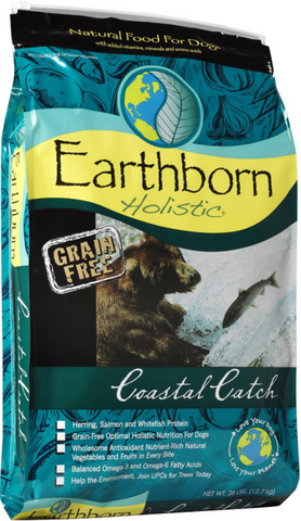 Earthborn Holistic Grain Free Coastal Catch Dog Food