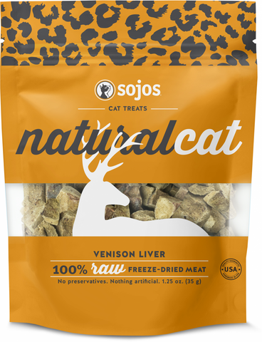 Sojos Natural Cat Venison Liver