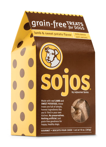 Sojos Grain Free Lamb & Sweet Potato Dog Treats