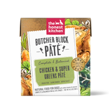 Butcher Block Pate Chicken & Super Greens Pate 10.5 oz Carton