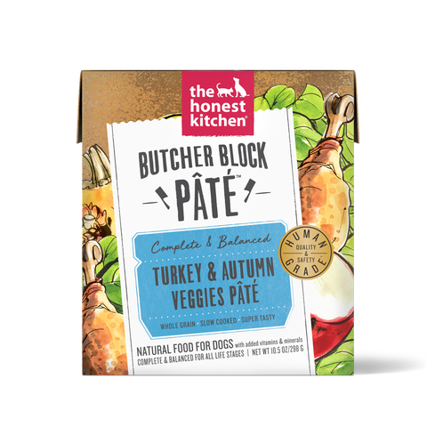 Butcher Block Pate Turkey & Autumn Veggies Pate 10.5 oz Carton