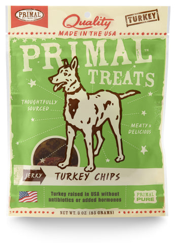 Primal Jerky Chips Turkey