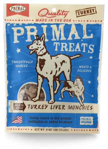 Primal Freeze-Dried Munchies Turkey Liver