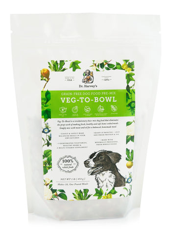 Dr. Harvey's Veg-To-Bowl Dog Food Premix