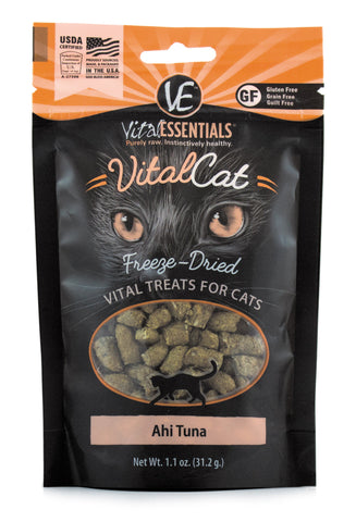 Vital Essentials Freeze-Dried Ahi Tuna Cat Treat