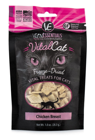 Vital Essentials Freeze-Dried Chicken Breast Cat Treat