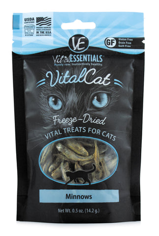 Vital Essentials Freeze-Dried Minnows Cat Treat