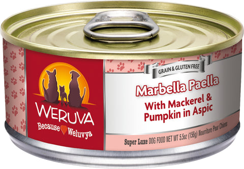 Weruva Marbella Paella Dog Food 5.5 oz